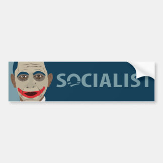 Anti-Obama Joker Socialist Bumper Stickers