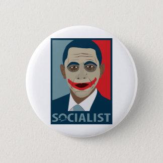 Anti-Obama Joker Socialist Button