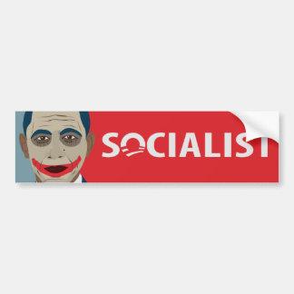 Anti-Obama Joker Socialist Car Bumper Sticker