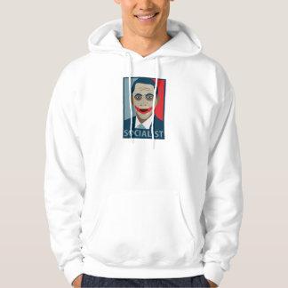 Anti-Obama Joker Socialist Hooded Pullover