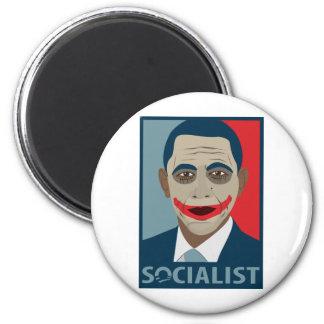 Anti-Obama Joker Socialist Magnets