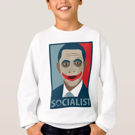Anti-Obama Joker Socialist Sweatshirt