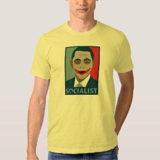 Anti-Obama Joker Socialist T Shirt