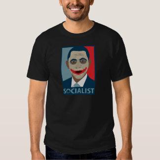 Anti-Obama Joker Socialist Tshirt