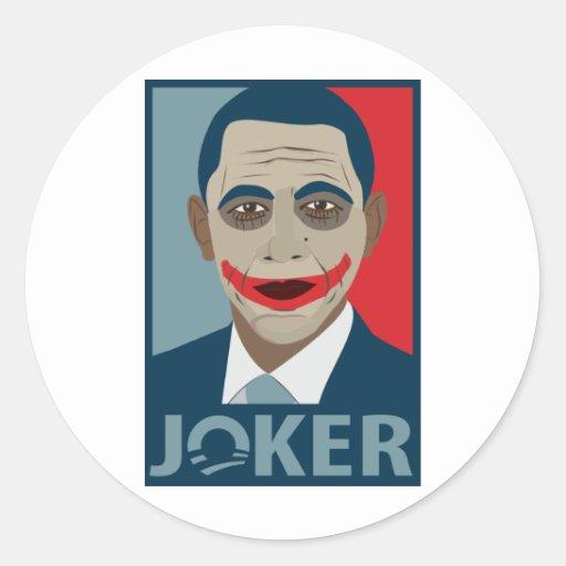Anti-Obama Joker Sticker
