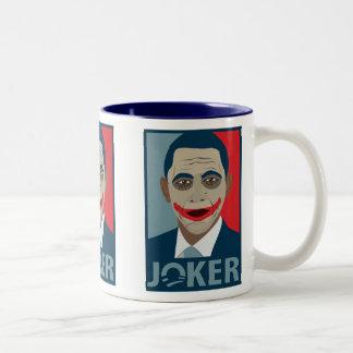 Anti-Obama Joker Two-Tone Coffee Mug