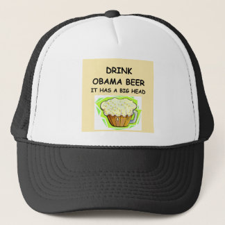 anti obama jokes trucker hat