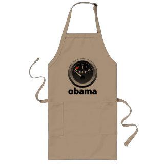 Anti-Obama: Juego vacío Delantal Largo