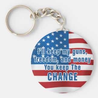 Anti-Obama Keychain