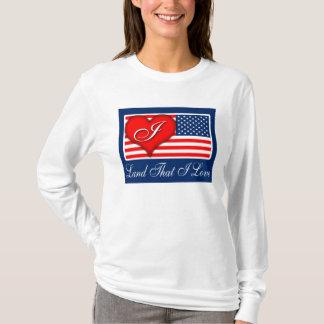 "anti Obama ""Land That I Love (Heart)"" T-shirt"
