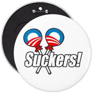 Anti-Obama - lechones Pin