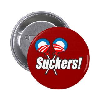 Anti-Obama - lechones Pin Redondo De 2 Pulgadas