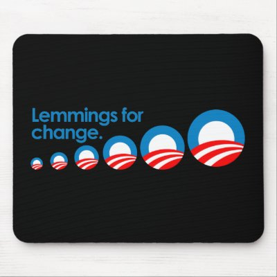 Obama lemming