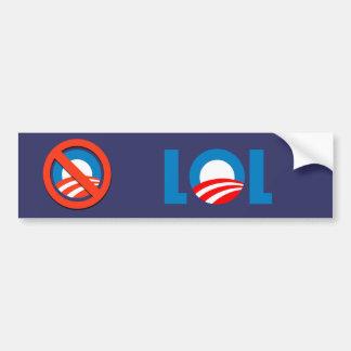 Anti-Obama - LOL Bumper Sticker