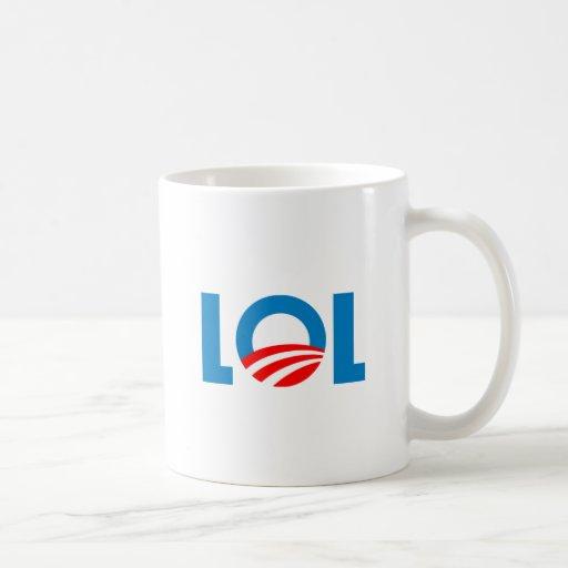 Anti-Obama - LOL Classic White Coffee Mug