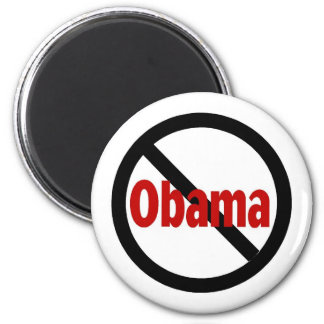 Anti Obama 2 Inch Round Magnet