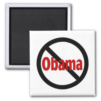 Anti Obama 2 Inch Square Magnet