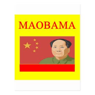anti obama MAOBAMA Postcard