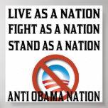 Anti Obama Nation Poster