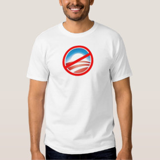 Anti-Obama - ningún Obama 2012 Playera