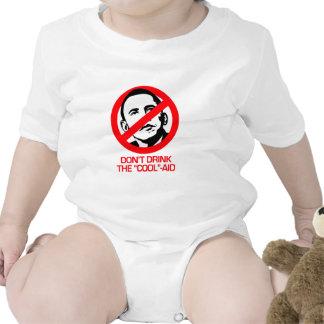 Anti-Obama - no beba la fresco-ayuda Traje De Bebé