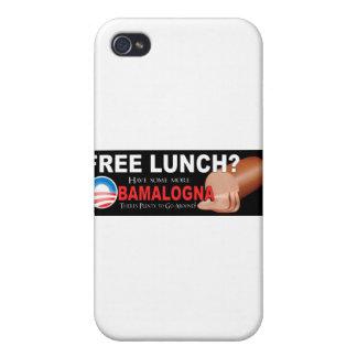 ¡Anti-Obama no más de Boloney caso del iPhone 4 iPhone 4/4S Fundas