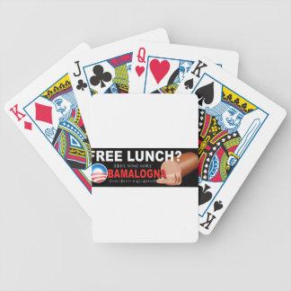 ¡Anti-Obama no más de Boloney Naipes Baraja Cartas De Poker