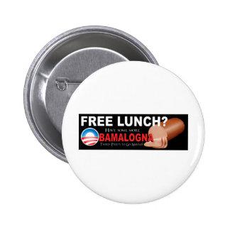 ¡Anti-Obama no más de Boloney Pin
