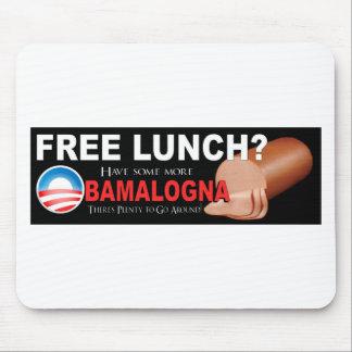 ¡Anti-Obama no más de Boloney Alfombrillas De Ratón