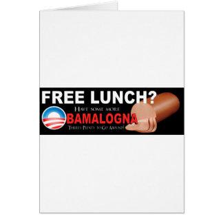 ¡Anti-Obama no más de Boloney Tarjeta