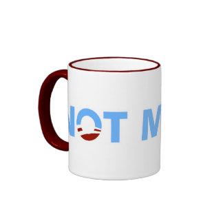 Anti-Obama: No mi doctor Taza De Café