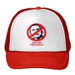 Anti-Obama - no mi presidente Gorro