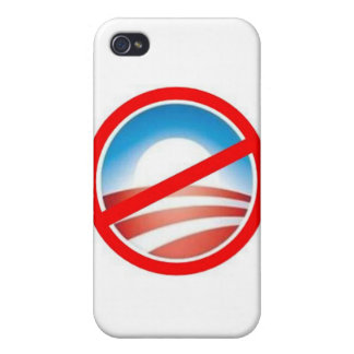 Anti-Obama - No Obama 2012 iPhone 4/4S Cases
