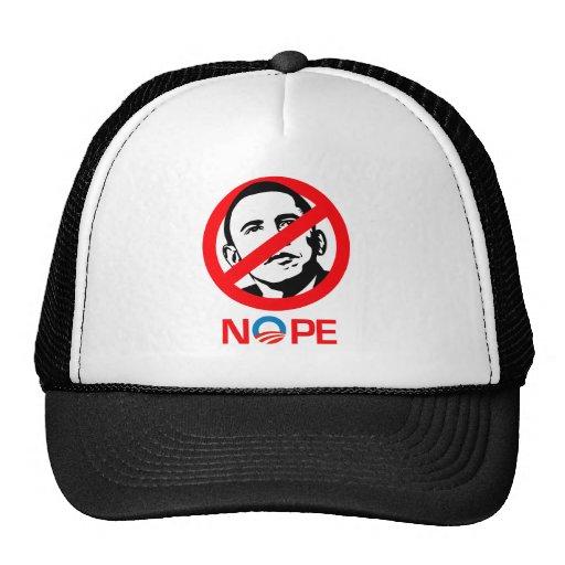 Anti-Obama - Nope Gorros