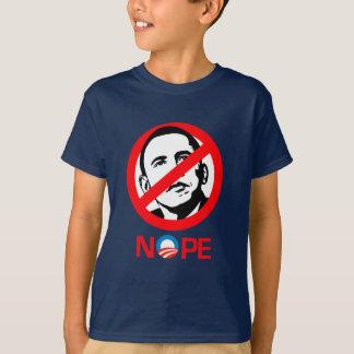 Anti-Obama - Nope Playera