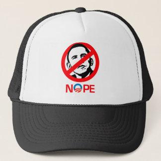 Anti-Obama - Nope Trucker Hat