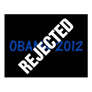 Anti-Obama: Not Obama for president in 2012 Postcard
