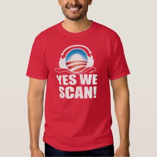 Anti Obama NSA Snooping Scandal T-Shirt