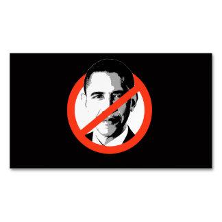 Anti-Obama - Obama Anti-Barack Tarjetas De Visita Magnéticas (paquete De 25)