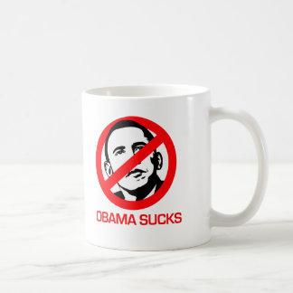 Anti-Obama - Obama chupa Taza