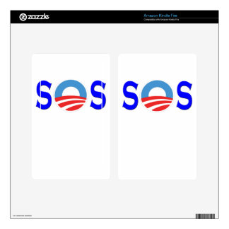 Anti Obama, Obamacare Decal For Kindle Fire