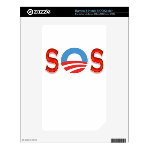Anti Obama, Obamacare Decals For The NOOK Color