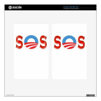 Anti Obama, Obamacare Kindle Fire Decal