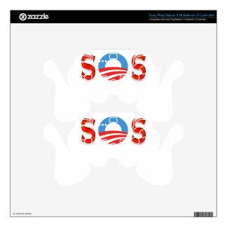 Anti Obama, Obamacare Skin For PS3 Controller