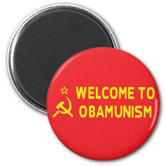 Anti Obama Obamunism Magnet