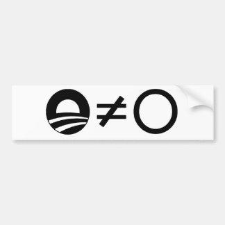 Anti-Obama Objectivist bumper stickers