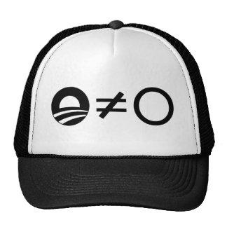 Anti-Obama Objectivist cap Trucker Hat