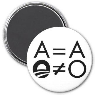 Anti-Obama Objectivist magnet