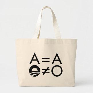 Anti-Obama Objectivist tote Tote Bag