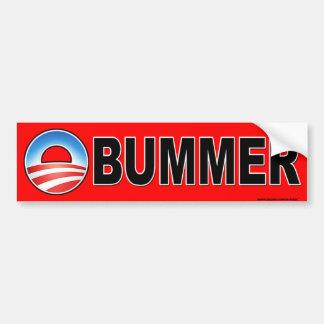 """anti Obama """"Obummer"""" bumper sticker Car Bumper Sticker"""